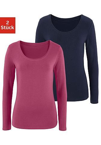 VIVANCE Marškinėliai ilgomis rankovėmis (2 vie...