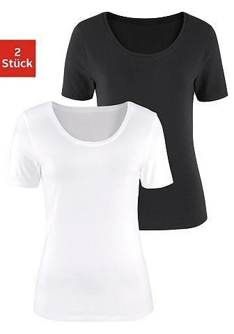 VIVANCE Marškinėliai (2 vienetai) iš tiesaus k...
