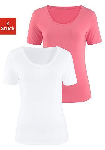 Marškinėliai (2 vienetai) iš tiesaus k...