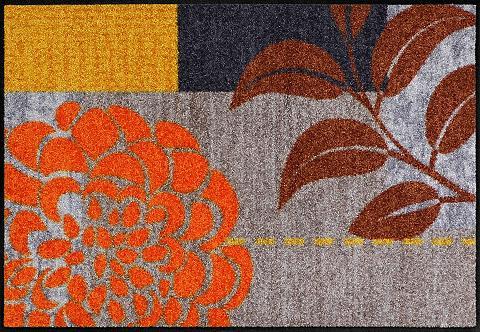 Durų kilimėlis »Flower Squares« rechte...