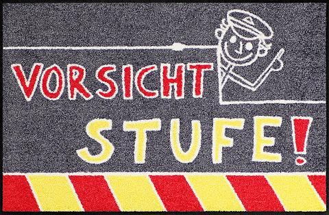 Durų kilimėlis »Vorsicht Stufe« rechte...