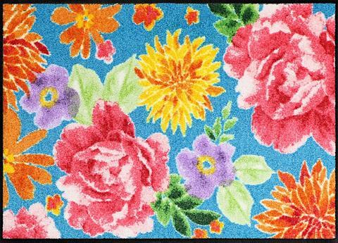 Durų kilimėlis »Big Roses« rechteckig ...