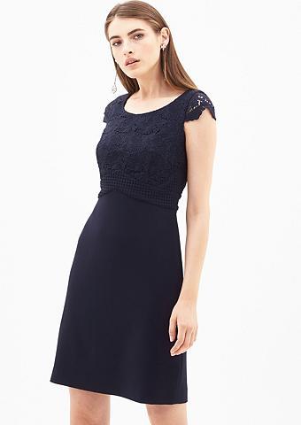 Suknelė su eleganter nėrinių