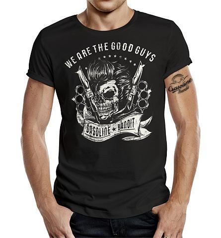 GASOLINE BANDIT ® Marškinėliai su raštas priekyje »We ...