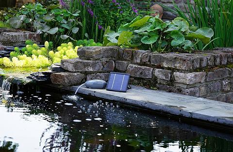 UBBINK Vandens siurblys »Air SOLAR Outdoor« i...