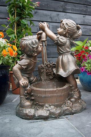 ACQUAARTE/UBBINK Vandens fontanas »Memphis« B/T/H: 47/2...