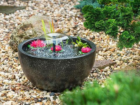 Vandens fontanas »Mini Teichset I« Ø/H...