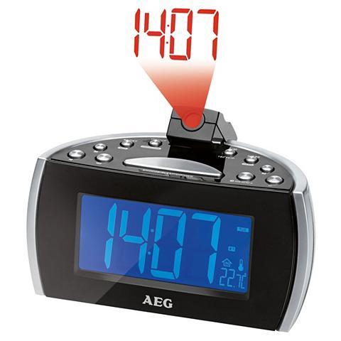 AEG Radijas su laikrodžiu su Projektion de...