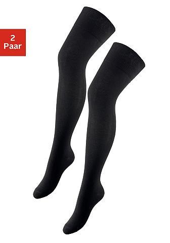 Kojinės (2 poros) su verstärkten Belas...