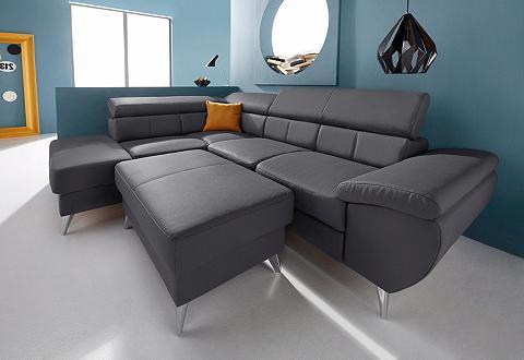 Kampinė sofa su Kopfteilverstellung pa...