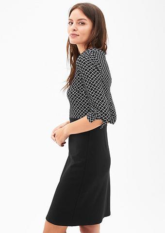S.OLIVER BLACK LABEL Dviejų spalvų suknelė