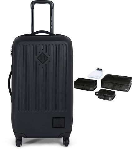 HERSCHEL Plastikinis lagaminas ant ratukų su 4 ...