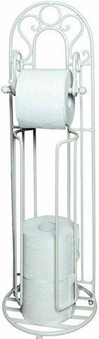 HOME AFFAIRE Toilettenrpapierständer »Antik« weiß