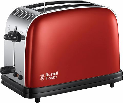 RUSSELL HOBBS Toaster Colours Plus+ Flame Red 23330-...