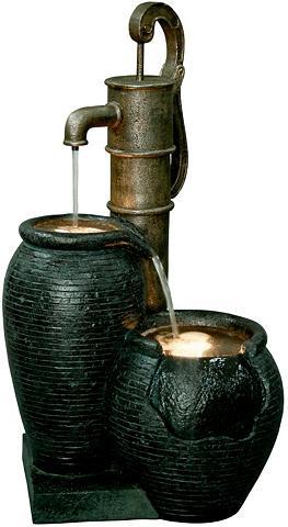 DOBAR Sodo fontanas B/T/H: 475/385/84 cm