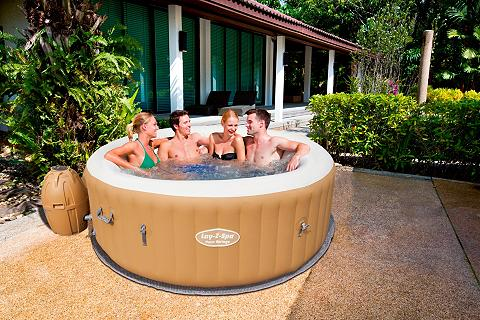 BESTWAY Whirlpool »Lay-Z-Spa? Palm Springs Air...