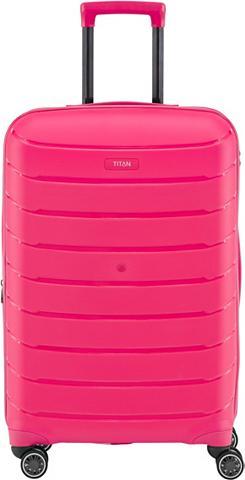 TITAN ® Plastikinis lagaminas ant ratukų su ...