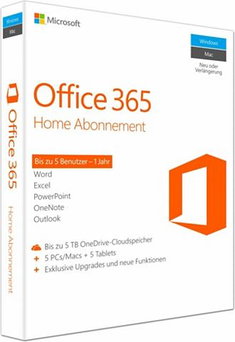 MICROSOFT ® Office 365 Home Mac/Windows