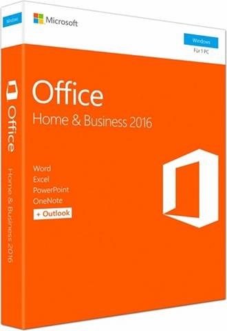 MICROSOFT ® Office Home and Dalykinis 2016 Windo...