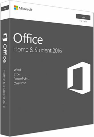 MICROSOFT ® Office Mac Home and Student 2016