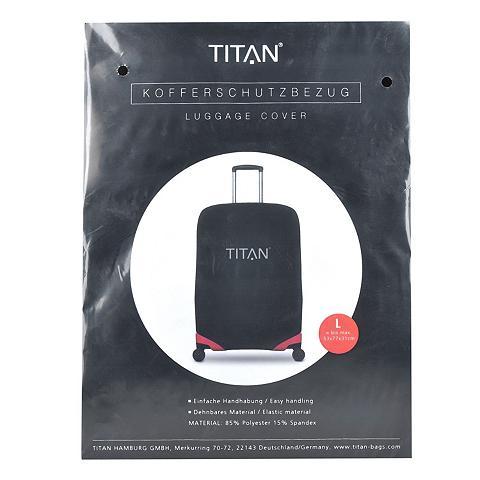 TITAN ® vienspalvis Kofferschutzhülle L