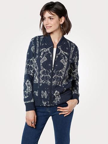 MONA Megztinis im Blouson-Stil