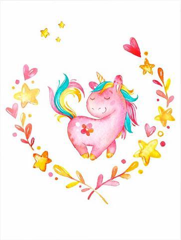 Plakatas »Ruby the Unicorn« (2 St.)