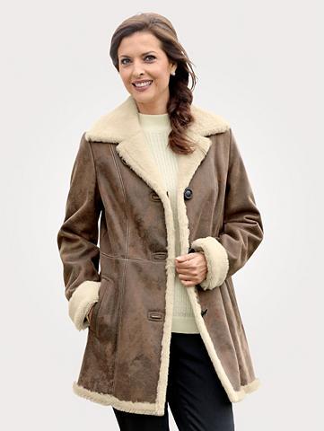 Trumpas paltas in antiker dirbtinės od...