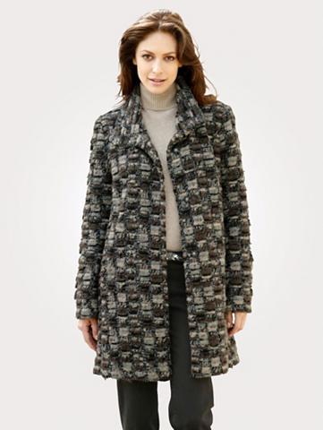 MONA Vilnonis paltas in švelnus kokybiškas ...