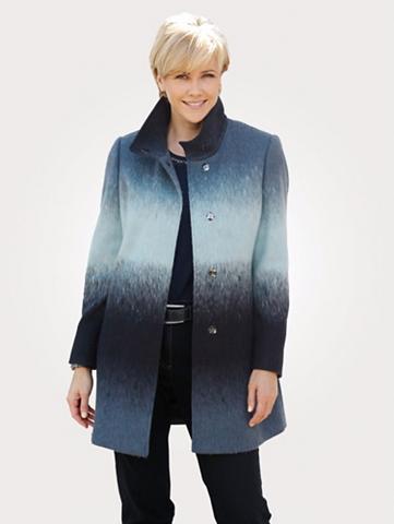 MONA Vilnonis paltas su Farbverlauf