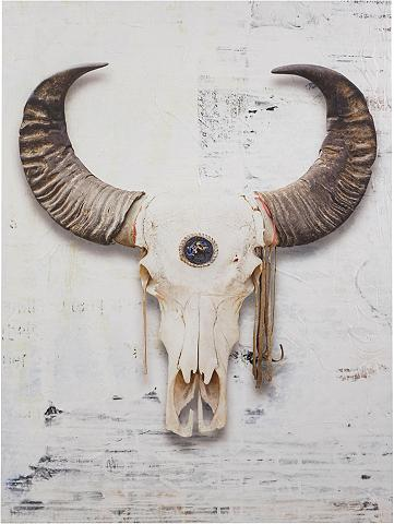 PREMIUM COLLECTION BY HOME AFFAIRE Paveikslas ant drobės »Büffel« Tier