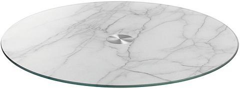 LEONARDO Servierplatte Marmor Ø 33 cm »TURN«