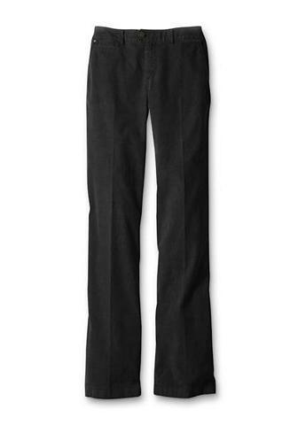 Straight Leg Velvetinės kelnės