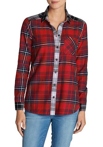 Flaneliniai marškiniai languota