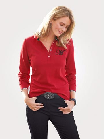 MONA Polo marškinėliai iš grynos medvilnė