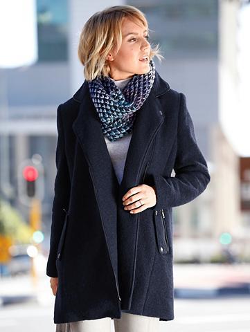 Vilnonis paltas in sportiver imitacija...