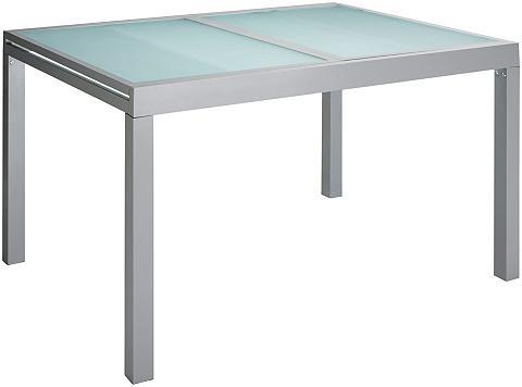 MERXX Sodo stalas »Lima« Aliumininis išsklei...