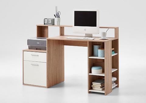 FMD Regal-Schreibtisch »Bolton« su 3 offen...