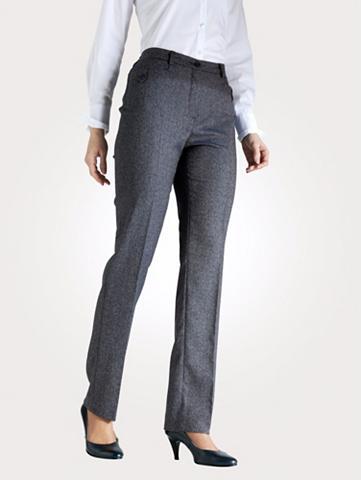 MONA Kelnės in Tweedoptik
