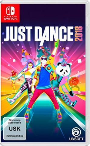 Just Dance 2018 Nintendo šakotuvas