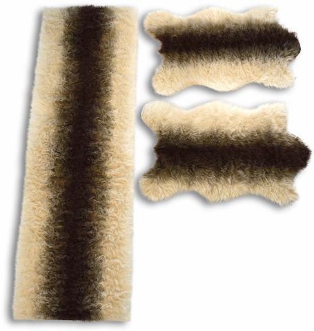 KINZLER Miegamojo kilimėliai »Fell Streifen« a...