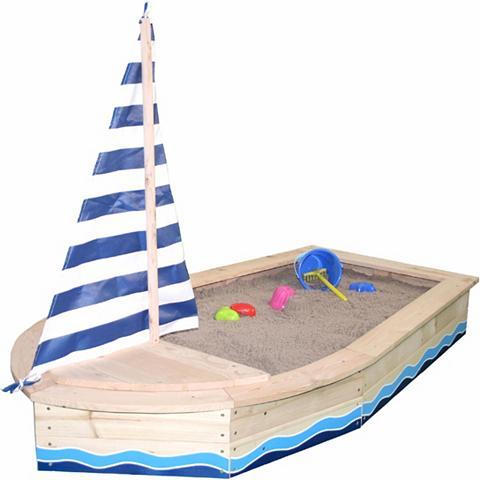 SUN Smėlio dėžė iš mediena »Bootsform natu...