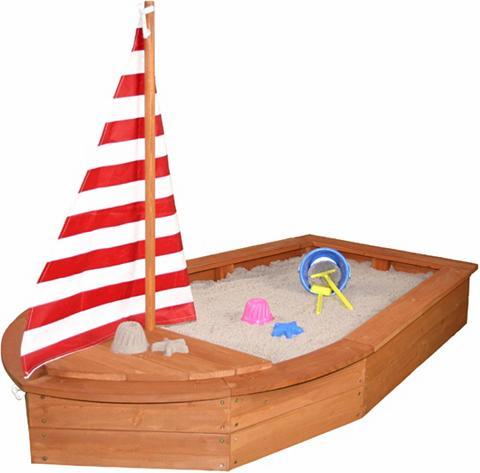 SUN Smėlio dėžė iš mediena »Bootsform brau...