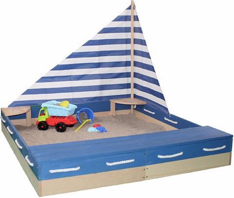 SUN Smėlio dėžė iš mediena »Matrose«