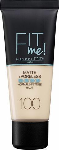 MAYBELLINE NEW YORK Foundation »FIT ME Matt&Poreless«