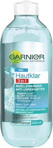 GARNIER »Hautklar 3in1 Mizellenwasser« Gesicht...