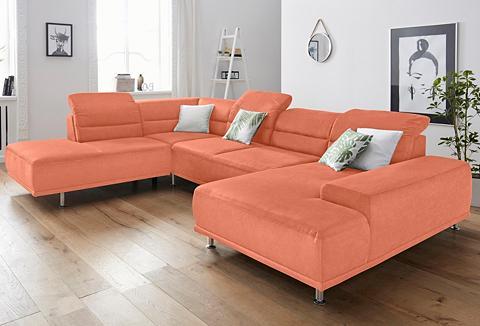 sit&more Sit&more sofa su Federkern su Kopfteil...