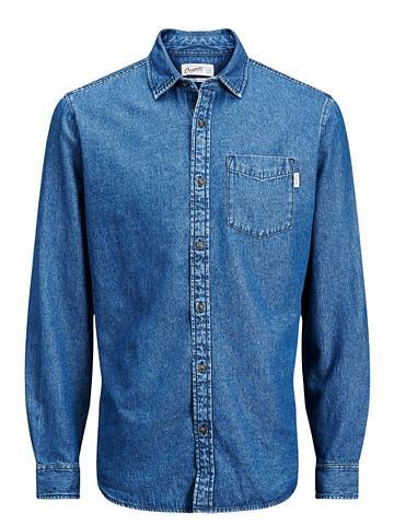 Jack & Jones Casual denim marškiniai i...