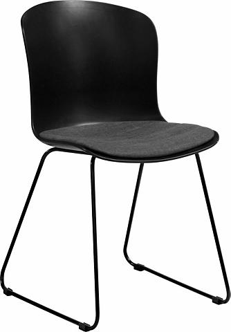 Kėdė (2 vnt.) su juoda spalva lackiert...