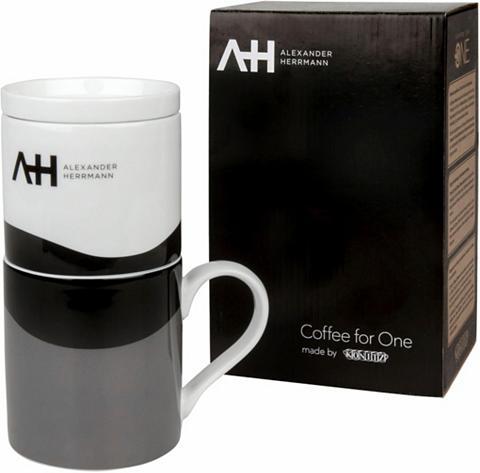ALEXANDER HERRMANN Kavinukas su stūmokliu »Coffee for one...